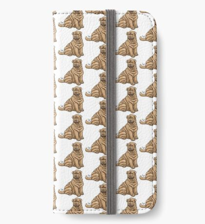 Chinese Shar Pei iPhone Wallet