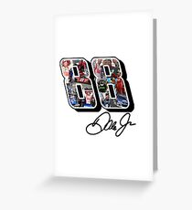 Dale Earnhardt Jr Tribute Design - #ThankYouDale (Assorted Products) Greeting Card