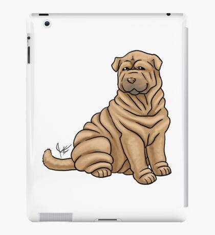 Chinese Shar Pei iPad Case/Skin