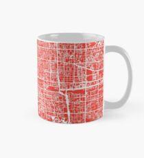 Beijing Map - Red Classic Mug