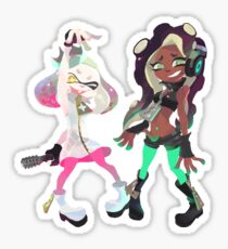 Off the Hook Pearl and Marina Splatoon 2 Sticker
