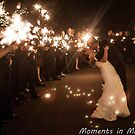 Sparkler Exit - Hinchcliff Wedding by Brittany Shinehouse