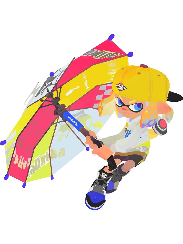 Splatoon 2 Yellow Inkling  by overflag