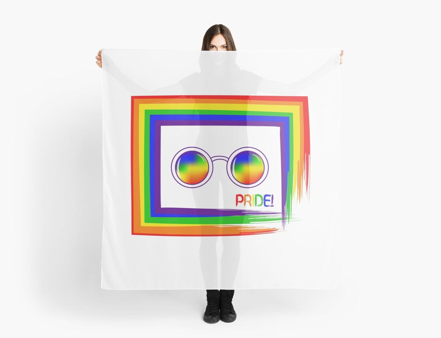 Pañuelos «Orgullo. LGBT. Arco iris. Símbolo para el desfile de ...