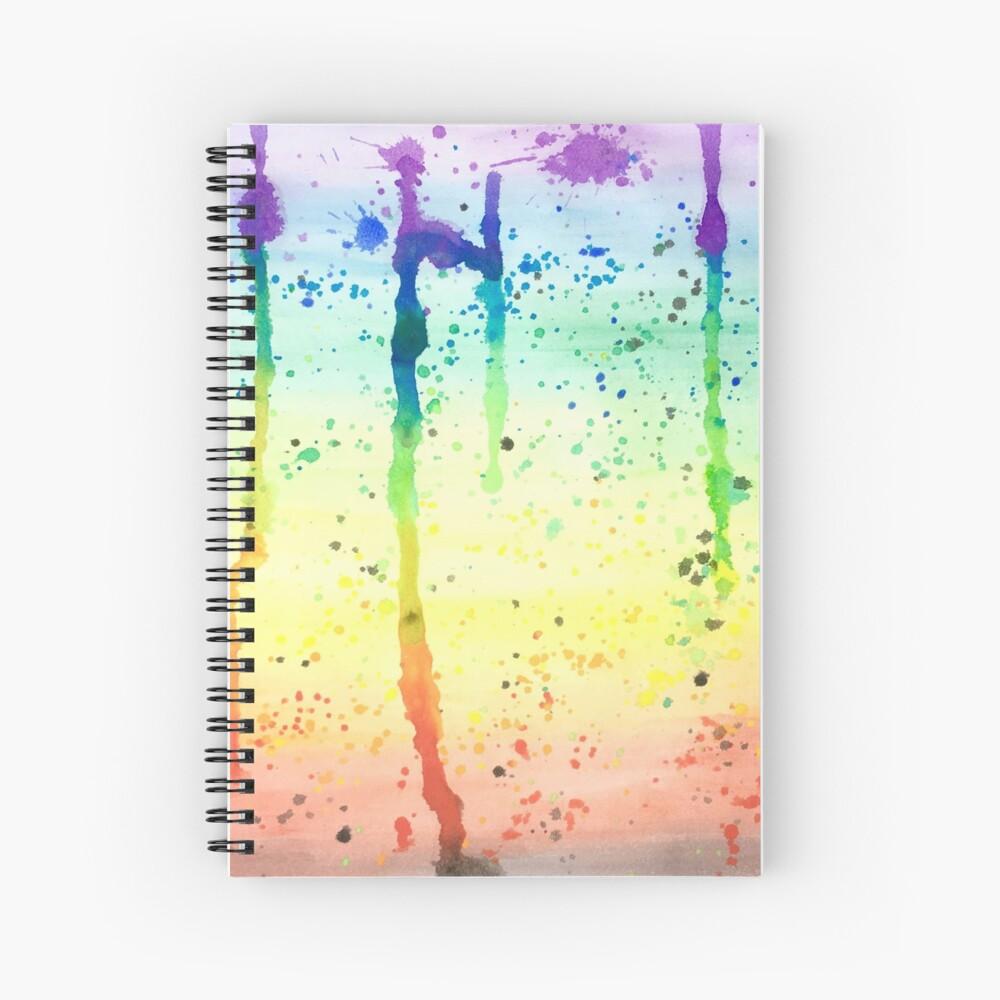 Pride Paint 2017 Spiral Notebook