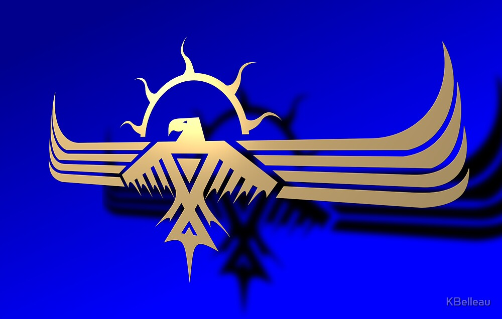 Anishinabek ThunderBird 3D by KBelleau