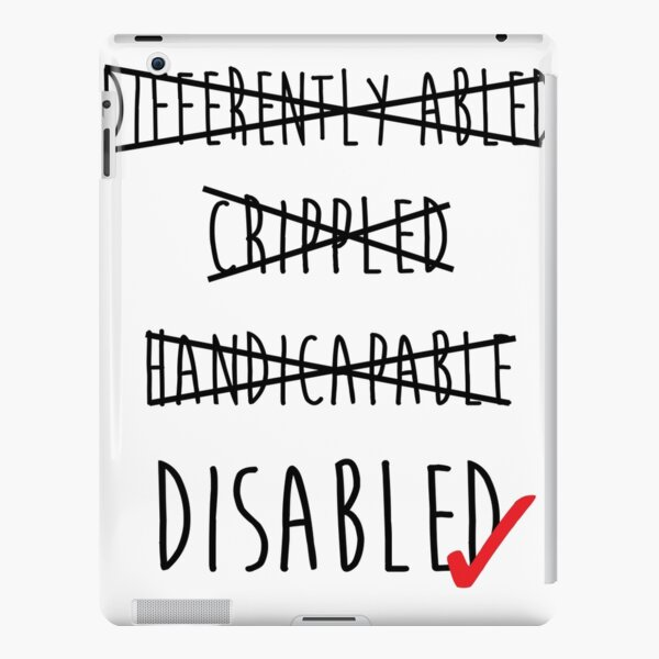 Disabled is fine. iPad Snap Case