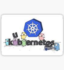 Kubernetes - Gophers Sticker