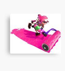 Splatoon 2 Pink Inkling Canvas Print