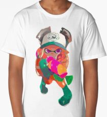 Splatoon 2 Salmon Run Inkling Long T-Shirt