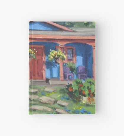 The Blue House Hardcover Journal