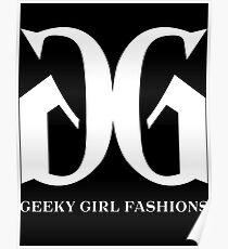 Geeky Mädchen-Mode © Poster
