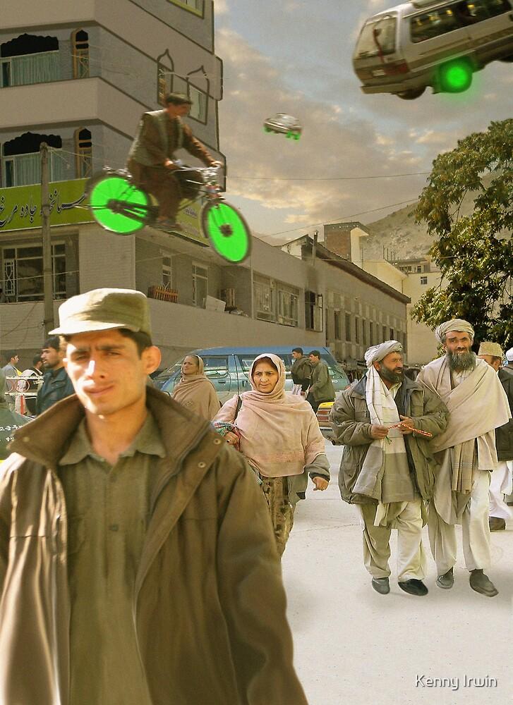Getting Around in 22nd Century Gilgit by Kenny Irwin