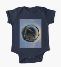 Foyle Marina at Dawn, Stereographic One Piece - Short Sleeve