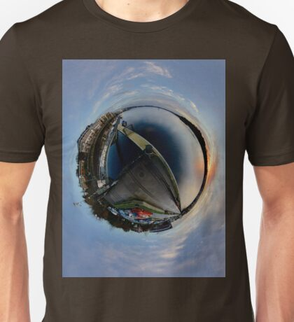 Foyle Marina at Dawn, Stereographic T-Shirt