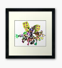 Splatoon 2 Artwork Framed Print