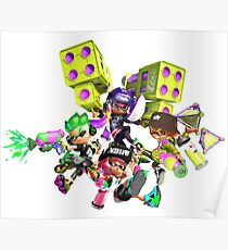 Splatoon 2 Artwork Poster