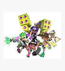 Splatoon 2 Artwork Photographic Print