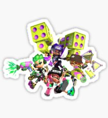 Splatoon 2 Artwork Sticker