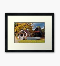 Cann River Church Framed Print