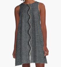 Needle snake A-Line Dress