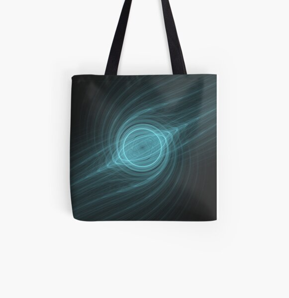 Making An Atom String Theory Pt 2   Fractal Art All Over Print Tote Bag