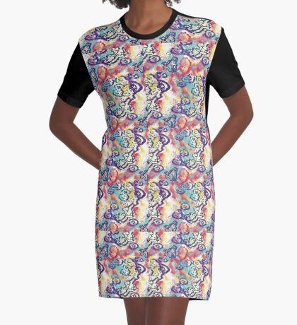 River Runs Deep Graphic T-Shirt Dress