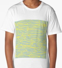 Abstract brush stroke pattern Long T-Shirt