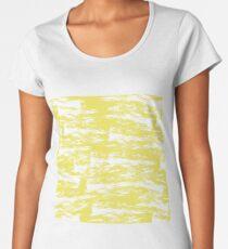Abstract brush stroke pattern Women's Premium T-Shirt