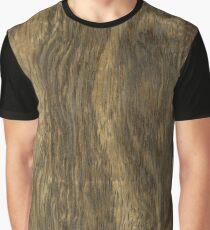Wood grain (Black Limba) Graphic T-Shirt