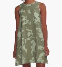 Grunge pattern A-Line Dress