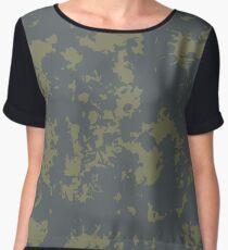 Grunge pattern Women's Chiffon Top