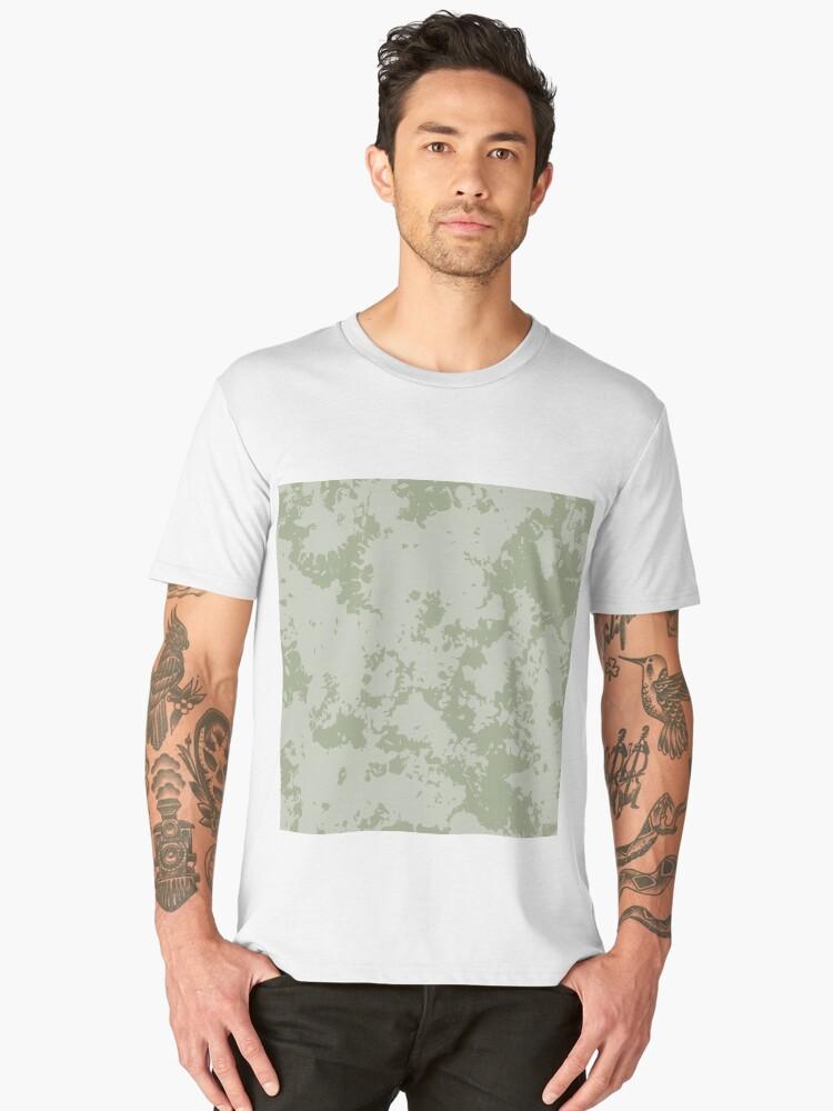 Grunge pattern Men's Premium T-Shirt Front
