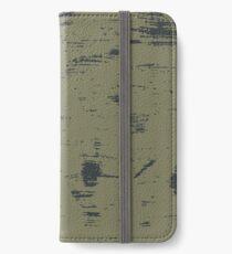Grunge pattern iPhone Wallet/Case/Skin