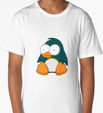Cartoon Penguin Long T-Shirt