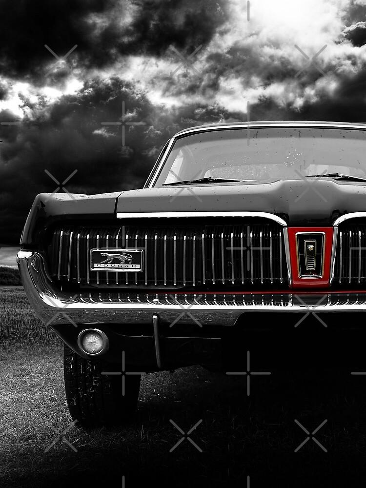 1968 Ford Mercury Cougar von hottehue
