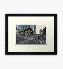 Evo - Philadelphia - Virtual Plein Air Painting Framed Print