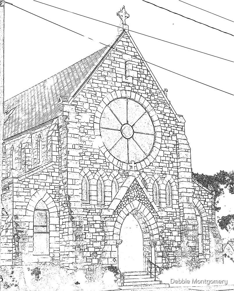 A Galveston Church by Debbie Montgomery