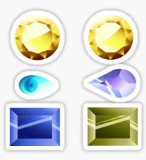 Homeworld's Finest Gems stickers - Steven Universe Sticker