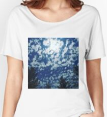 Speckled Sky Women's Relaxed Fit T-Shirt