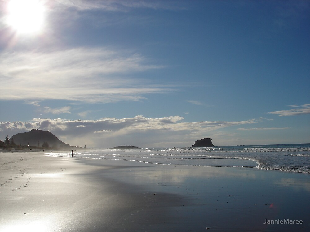 Gorgeous Mt Maunganui, NZ by JannieMaree