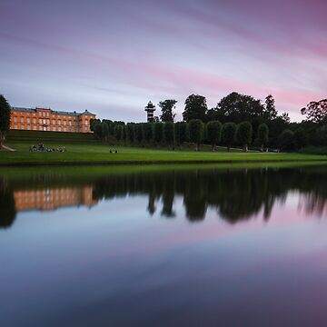 Sunset at Frederiksberg Garden by LukaSkracic