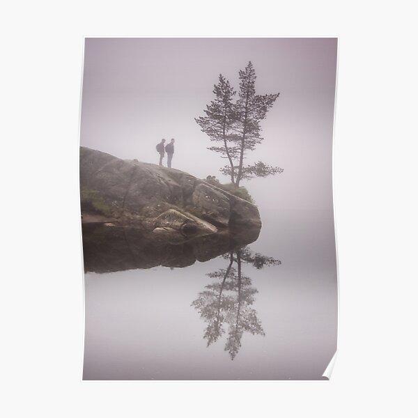 Norwegian reflection Poster