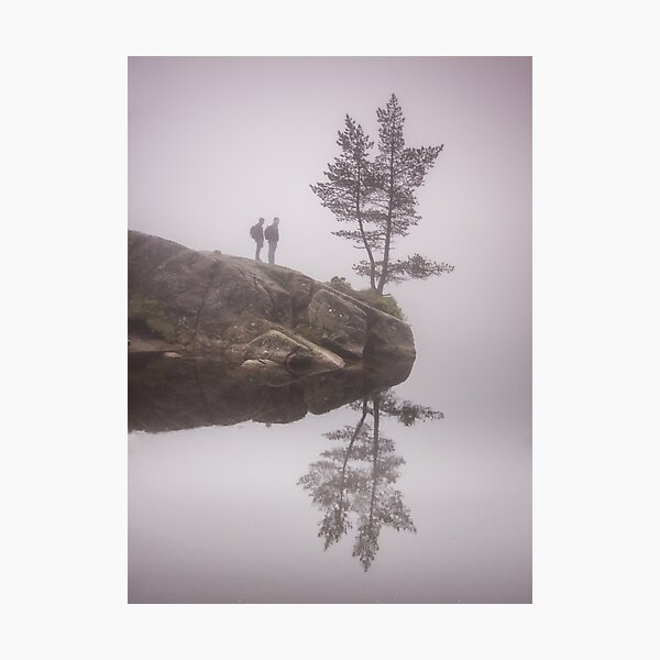 Norwegian reflection Photographic Print