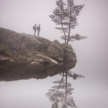 Norwegian reflection by LukaSkracic
