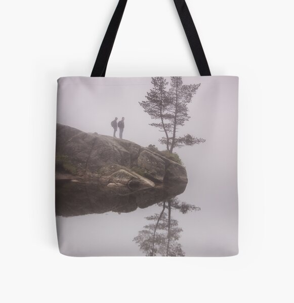 Norwegian reflection All Over Print Tote Bag