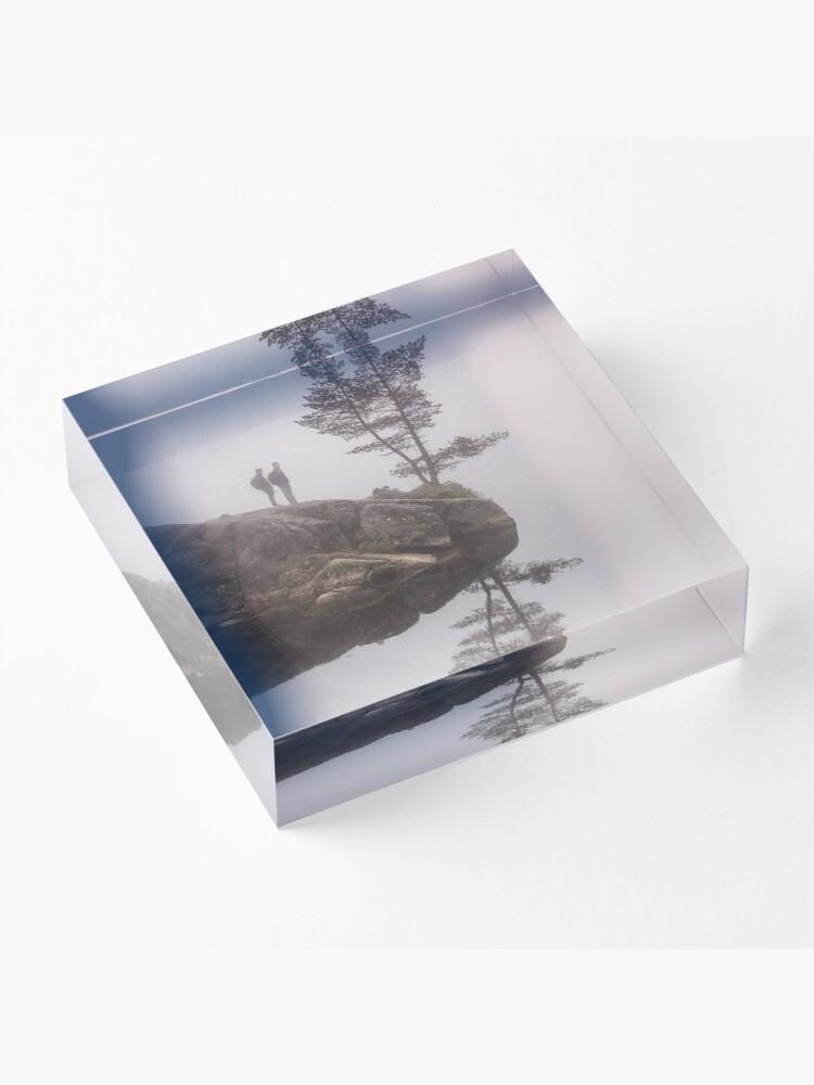 Alternate view of Norwegian reflection Acrylic Block