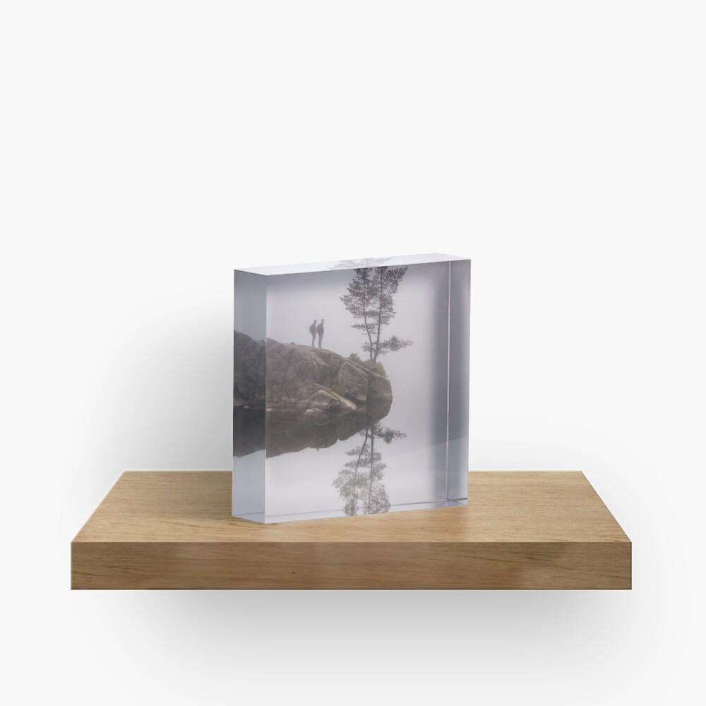 Norwegian reflection Acrylic Block