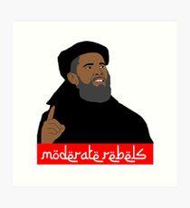 Obama ''moderate rebels'' shirt Art Print