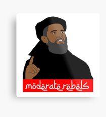 Obama ''moderate rebels'' shirt Metal Print